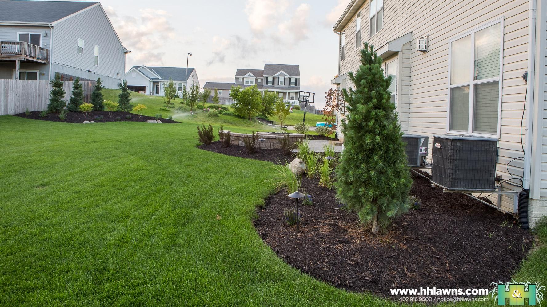Barry Webber Outdoor Patio Landscape Project 2016 (H&H Lawn and Landscape)