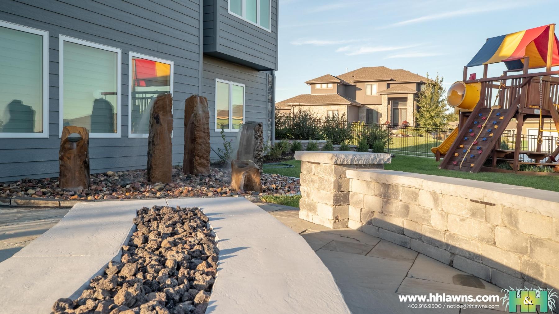 092419 Coughlin Omaha Landscape Company H&H Lawn and Landscape Omaha, Nebraska Created By // Nathan Olsen