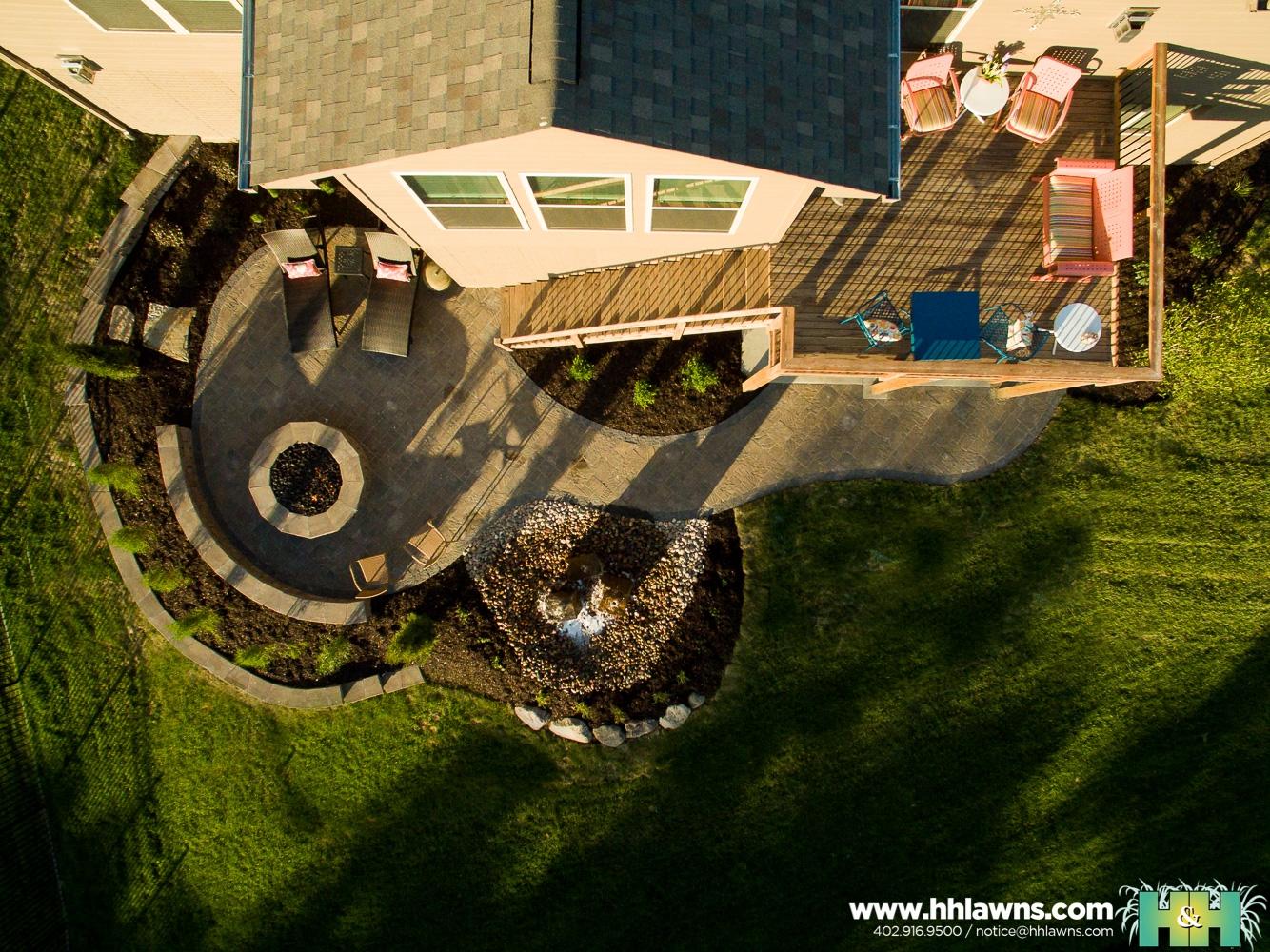 Nancy Johnston Landscape Project by H&H Lawn and Landscape