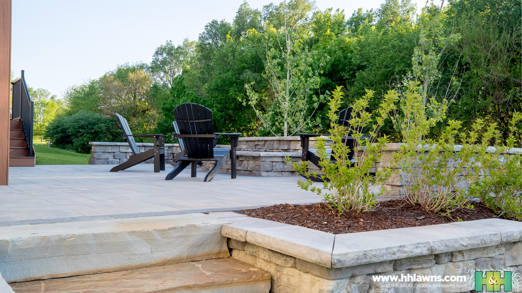 051718 Dawn Stock Residential Landscape Design H&H Lawn and Landscape Omaha, Nebraska Photos by Nate Olsen