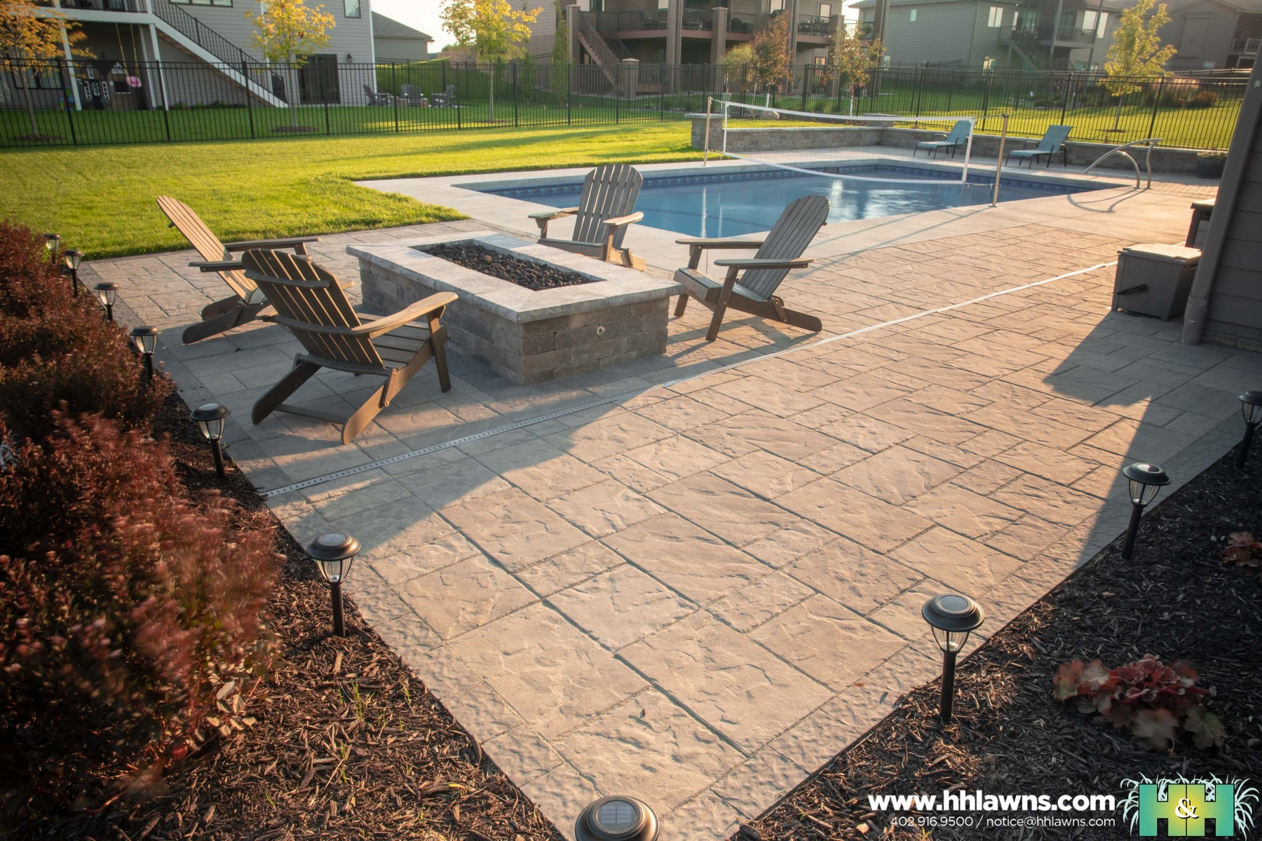 091019 Brandon Corder H&H Lawn and Landscape Omaha Landscape Company Created By // Nathan Olsen
