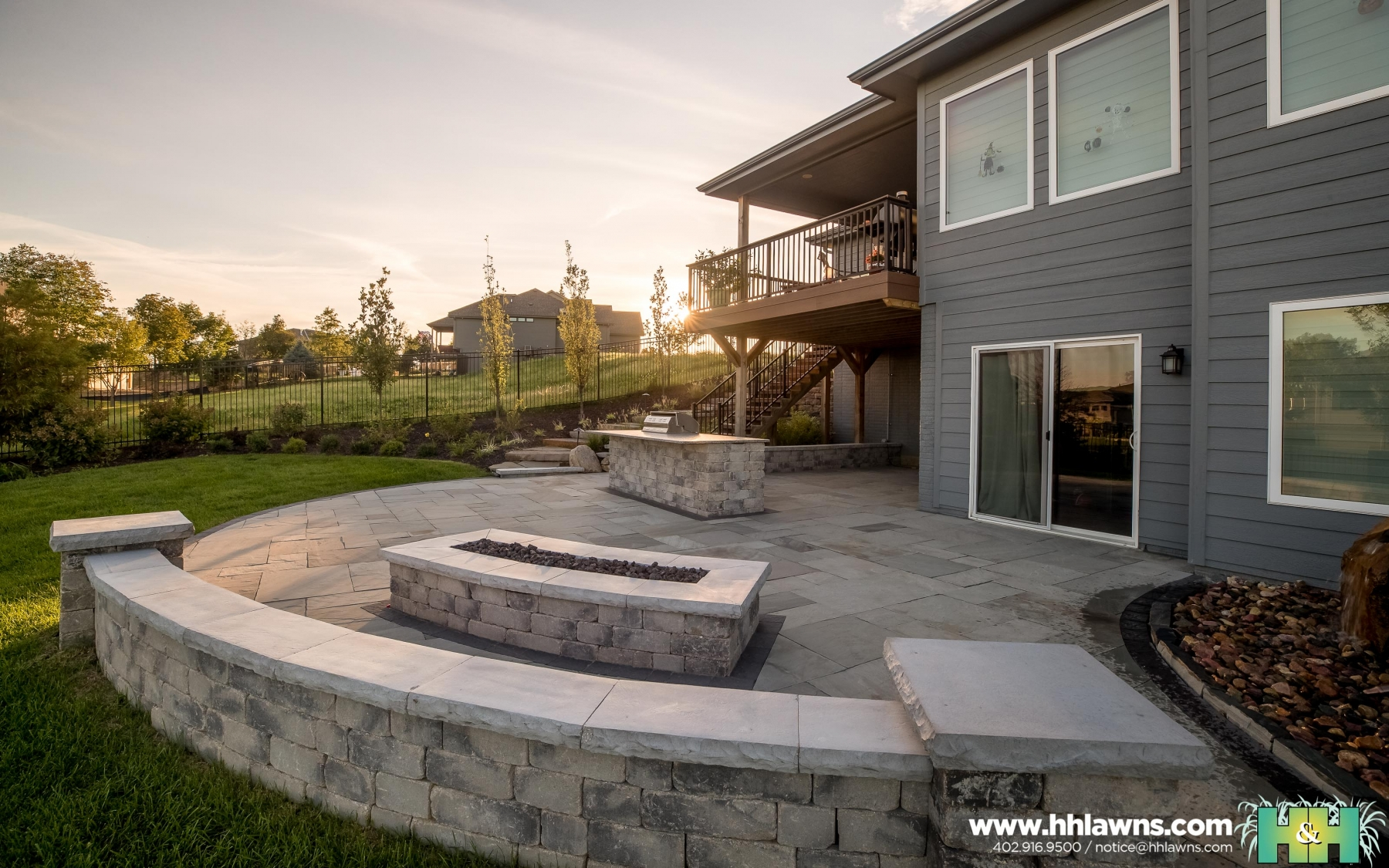 092419 Coughlin Omaha Landscape Company H&H Lawn and Landscape Omaha, Nebraska Created By // Nathan Olsen