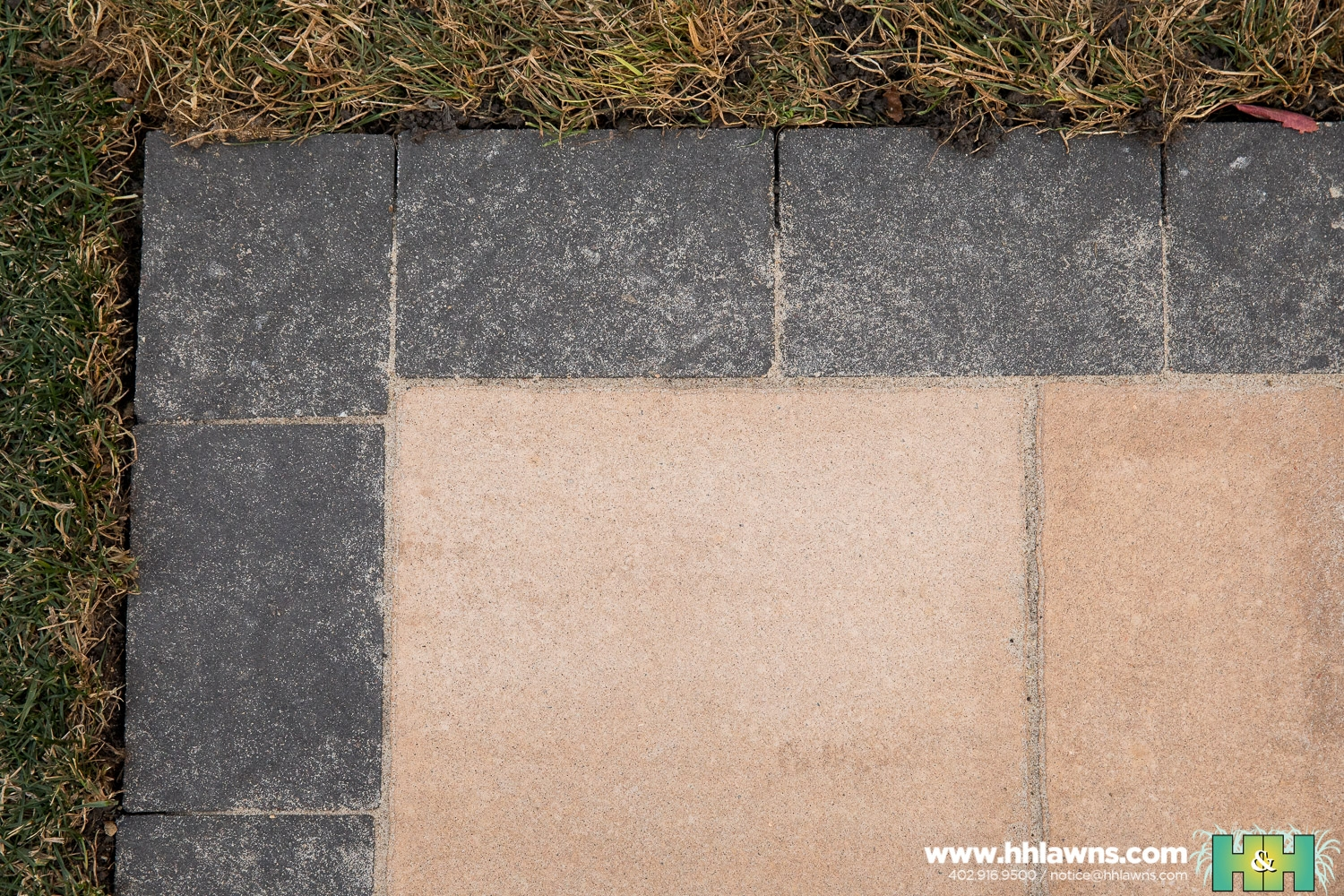 Mulligan Paver Patio Landscape Omaha H&H Lawn and Landscape