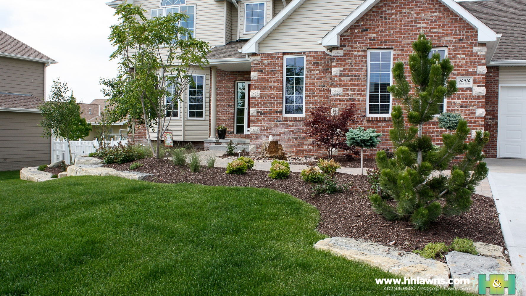 Natural Stone Retaining Walls Omaha