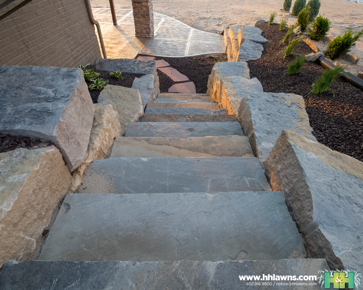 H&H Lawn and Landscape Hardscape Project